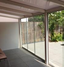 Plaatsing veranda