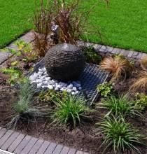 Plaatsing fontein